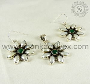 925 Sterling Silver Jewellery Set